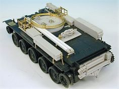 This extensive conversion in resin and etched brass by Derek Hansen converts the Tamiya Cromwell Mk-IV to the WW-II ARV Mk-1 used in N.W.Europe from D-Day onwards. This is the vehicle shown in the famous picture in Normandy towing a captured PzKpfw.IV.Woven brass towing cable and plastic jib struts are also included along with full-illustrated instructions. This is the original and best researched Cromwell ARV-1 on the market.This product is a Conversion set and a donor plastic kit is needed…