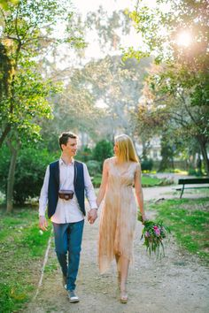 Greece wedding inspiration shoot that plays off the country's natural beauty in eclectic, unconventional style that is perfect for the ever-avant-garde Wedding Present Ideas, Greece Fashion, Alternative Wedding Dresses, Greece Wedding, Groom, Wedding Inspiration, Bride, Couple Photos, Anna