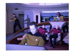 """""""Captain, there appears to be a sick beat off the starboard bow."""" """"Drop the bass, Mr. Data.""""  Star Trek, stabilized."""