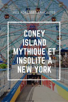 Coney Island Brooklyn, une parenthèse à New York - Best Of Travel Destinations Voyage Usa, Voyage New York, Business Trip Packing, Travel Packing, Coney Island, Bon Plan New York, Cincinnati, North And South, Brighton