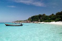 Similan Islands, Thailand.  One of the most beautiful places I have ever been.