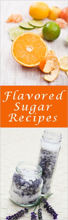 Citrus & Lavender Tart, Tangy or Sweet: {Flavored Sugar Instructions} These… Infused Sugar, Pesto, Salsa Dulce, Sugar Cubes, Curry, No Sugar Foods, Edible Gifts, Seasoning Mixes, Dressing