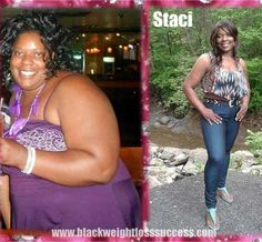Staci lost 106 pounds | Black Weight Loss Success