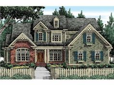 Country House Plan with 3135 Square Feet and 5 Bedrooms(s) from Dream Home Source | House Plan Code DHSW53511