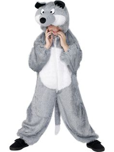 Our wolf costumes are fun for the whole family. From adult wolf costumes to kids wolf costumes we have it all including direwolf costumes, werewolf costumes and big bad wolf costumes. Find just what you need in our selection of wolf Halloween costumes. Dress Up Outfits, Dress Up Costumes, Kids Outfits, Boy Halloween Costumes, Boy Costumes, Nativity Costumes, Party Costumes, Baby Halloween, Piglet Costume