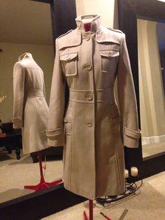 Kenneth Cole | Threadflip Pea Coat, Slim, Jackets, Fashion, Down Jackets, Moda, Parka Coat, Fashion Styles, Fashion Illustrations