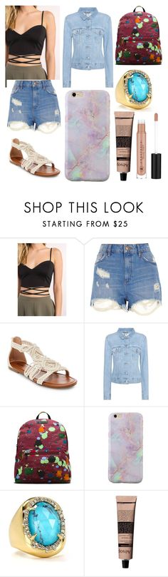 """Isabelle.B"" by llamapoop ❤ liked on Polyvore featuring Tobi, River Island, Mossimo Supply Co., Acne Studios, Dr. Martens, Alexis Bittar, Aesop and Anastasia Beverly Hills"