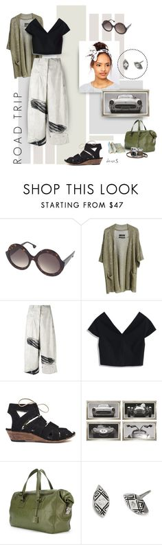 """""""Green Light"""" by deuxs ❤ liked on Polyvore featuring Alice + Olivia, By Malene Birger, Rundholz, Chicwish, William Stafford, Assouline Publishing, Hermès, roadtrip and lorde"""