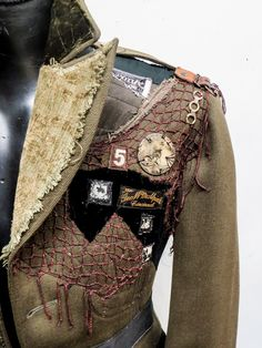 the Ringmaster coat, details custom made for the Vespertine Circus