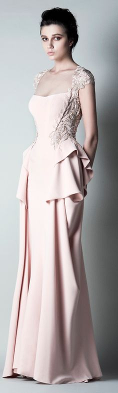 {this design is completely stunning) saiid-kobeisy PRE FALL 2016