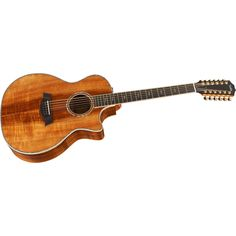 Taylor Koa Series K64ce 12-String Grand Auditorium Acoustic-Electric Guitar Natural.