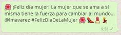 #DiaDeLaMujer #FelizDiaDeLaMujer