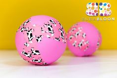 Moos Pink Fabric Balloon Cover from BUBABLOON®