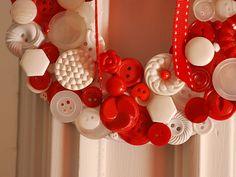 wreath closeup by craftapalooza, via Flickr