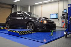 08-STI Tuned by: Bill Knose - Delicious Tuning at Mann Engineering Dyno Cell