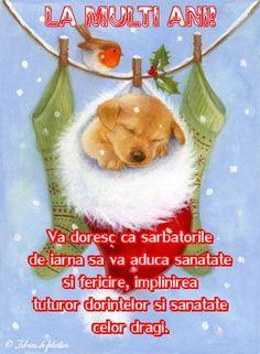 Vă doresc ca sărbătorile de iarnă să vă aducă sănătate şi fericire, împlinirea tuturor dorinţelor şi sănătate celor dragi. Snoopy, Christmas Ornaments, Holiday Decor, Character, Mai, Quotes, Quotations, Christmas Jewelry, Christmas Decorations