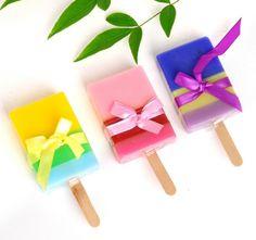 color handmade soap