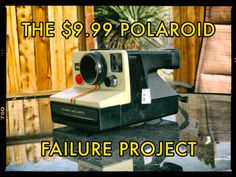 The $9.99 Polaroid Failure Project   Today we the pleasure to feature film editorVashi Nedomansky with his latest post 'The $9.99 Polaroid Failure Project'. We hope you enjoy .  Sometimes failure can be a good thing. Sometimes the accidental can be refreshing. Sometimes not planning can create surprising results. Last week I bought a Polaroid OneStep SX-70 camera for $9.99 at a thrift store in Joshua Tree California. I planned on shooting a great 8-photograph series in the Mojave Desert. I…