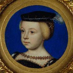 Elisabeth de France, 5 ans (1545-1568) Fille d'Henri II
