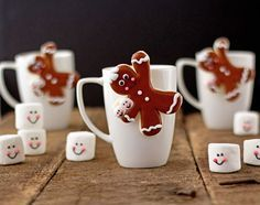 gingerbread straw cup - Google Search