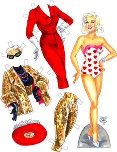 50s sex symbols by David Wolfe