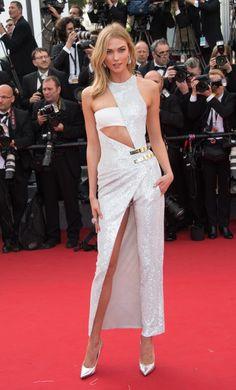 Karlie Kloss in Atelier Versace Fall 2014 - 2015 Cannes Film Festival