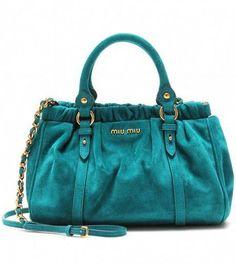 8686c2b74861 MIU MIU Mini Handbag - Lyst  MiuMiu Suede Handbags