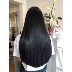 Long Dark Hair, Long Natural Hair, Long Hair With Bangs, Long Layered Hair, Beautiful Long Hair, Gorgeous Hair, Long Hair Wedding Styles, Long Hair Styles, Long Hair Highlights