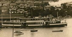 The ferry Greycliffe collided with the NZ ship Tahiti in Sydney Harbour on the afternoon of Of the 120 passengers on the ferry, incl. many schoolchildren returning home, 40 people were killed when the ferry was cut in two & sank. Sydney Ferries, The Old Days, South Wales, Tahiti, Paddle, New Day, Old Photos, Paris Skyline, Past