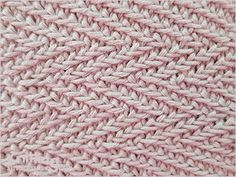 Knitting Stitch Patterns. Treasure trove of how to's for dozens of different stitches for all levels