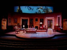 Blithe Spirit. Scenic design by Ross Fleming.