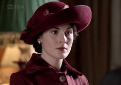Wow, Mary has a great hat here!