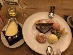 Dessert im Pschorr  in München. Lust Restaurants zu testen und Bewirtungskosten zurück erstatten lassen? https://www.testando.de/so-funktionierts