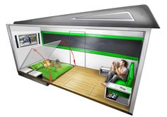 http://www.inmagz.com Dashingly Tiny House Blog Archive Domus Mobile Compact Living Interior Magazine