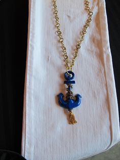 flaunt this. Anchor Necklace, Pendant Necklace, Anchors, Repurposed, Nautical, My Love, My Style, Heart, Vintage