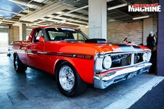 John Huysmans is looking to take on Drag Challenge 2017 in his nine-second twin-turbo XW ute Australian Muscle Cars, Aussie Muscle Cars, Funny Dog Memes, Funny Sexy, Old Fords, Ford Falcon, Diy Car, Twin Turbo, Ford Gt