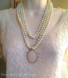 Avery pendant worn on Opening Night. www.facebook.com/premierjewelrywithabbylowery #pdstyle #pdbling #pdcombos