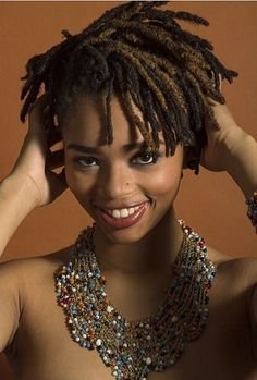 BLACKWOMENSNATURALHAIRSTYLES   Go Back > Gallery For > Short Loc Styles For Women