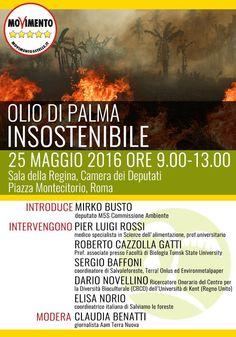 il popolo del blog,notizie,attualità,fatti : Convegno Olio di palma Insostenibile, il 25 maggio...