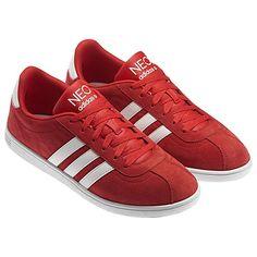 Amadas en rojo Adidas Neo VLNEO Court Shoes