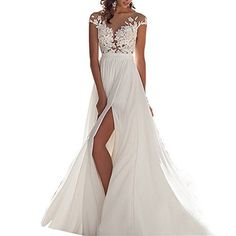 online shopping for WANNISHA Women's Sexy Chiffon Beach Wedding Dress Long Tail Gown Bride Dresses from top store. See new offer for WANNISHA Women's Sexy Chiffon Beach Wedding Dress Long Tail Gown Bride Dresses 2016 Wedding Dresses, Wedding Dress Chiffon, Bohemian Wedding Dresses, Wedding Gowns, Prom Dresses, Bride Dresses, Lace Wedding, Wedding Rings, 2017 Wedding