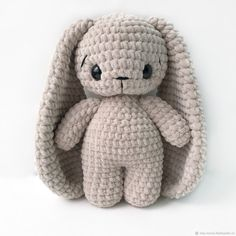 Crochet Toys Bunny & Co by CrochetToysBunnyCo Crochet Kawaii, Crochet Bunny Pattern, Crochet Patterns Amigurumi, Crochet Dolls, Knitted Teddy Bear, Crochet Teddy, Crochet Baby, Quick Crochet, Cute Crochet