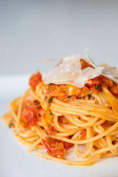 #Spaghetti #Pomodoro e Grana