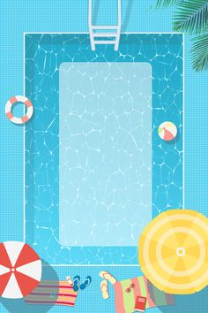 Blue fresh summer tour poster background material More than 3 million PNG and graphics resource at Pngtree. Cute Wallpapers, Wallpaper Backgrounds, Iphone Wallpaper, Don Du Sang, Pool Party Invitations, Illustration Art, Illustrations, Summer Backgrounds, Summer Wallpaper