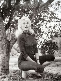 Bunny Yeager was one of the most influential people involved in pin-up  modeling on both sides of the camera. After spending some time as a model  Yeager e6eca8c9b9a