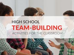 In this article, you'll discover how team-building activities benefit high school Leadership Activities, Leadership Coaching, Leadership Qualities, High School Classroom, High School Students, Classroom Games, Future Classroom, Classroom Decor, High School Activities