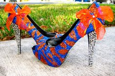 Florida Gators-I hear Goodwill and Michael's calling my name.  Gotta make me a pair!