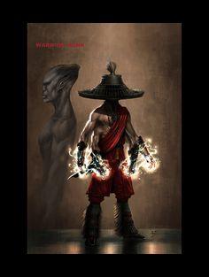 Conceptacon / UC2 / Nali Warrior Monk