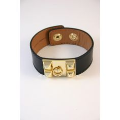 Onyx Leather Cuff #sophieandtrey #online #shop #fashion #trend #style #cuff #hardware #love #bracelet