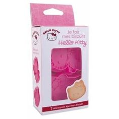 Boite 2 emporte-pièces Hello Kitty, ScrapCooking: Amazon.fr: Cuisine & Maison
